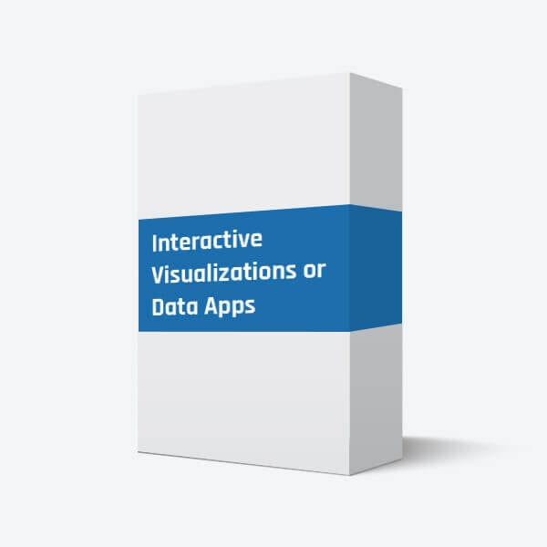 Interactive Visualizations or Data Apps